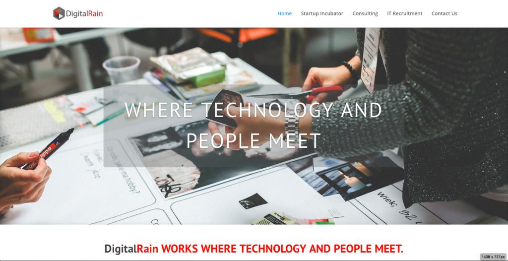 Digital Rain Home Page