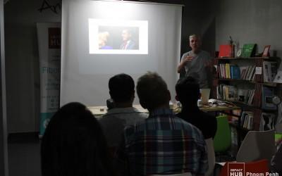 Technology StartUp – Teaching Entrepreneurs at the Impact Hub in Phnom Penh