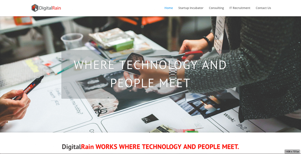 Digital Rain Home Page