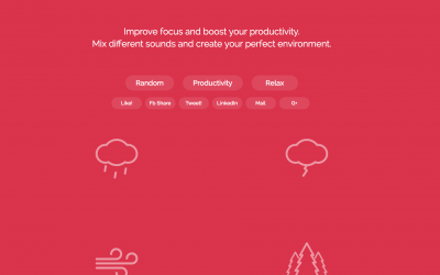 How to increase your productivity with Noisli
