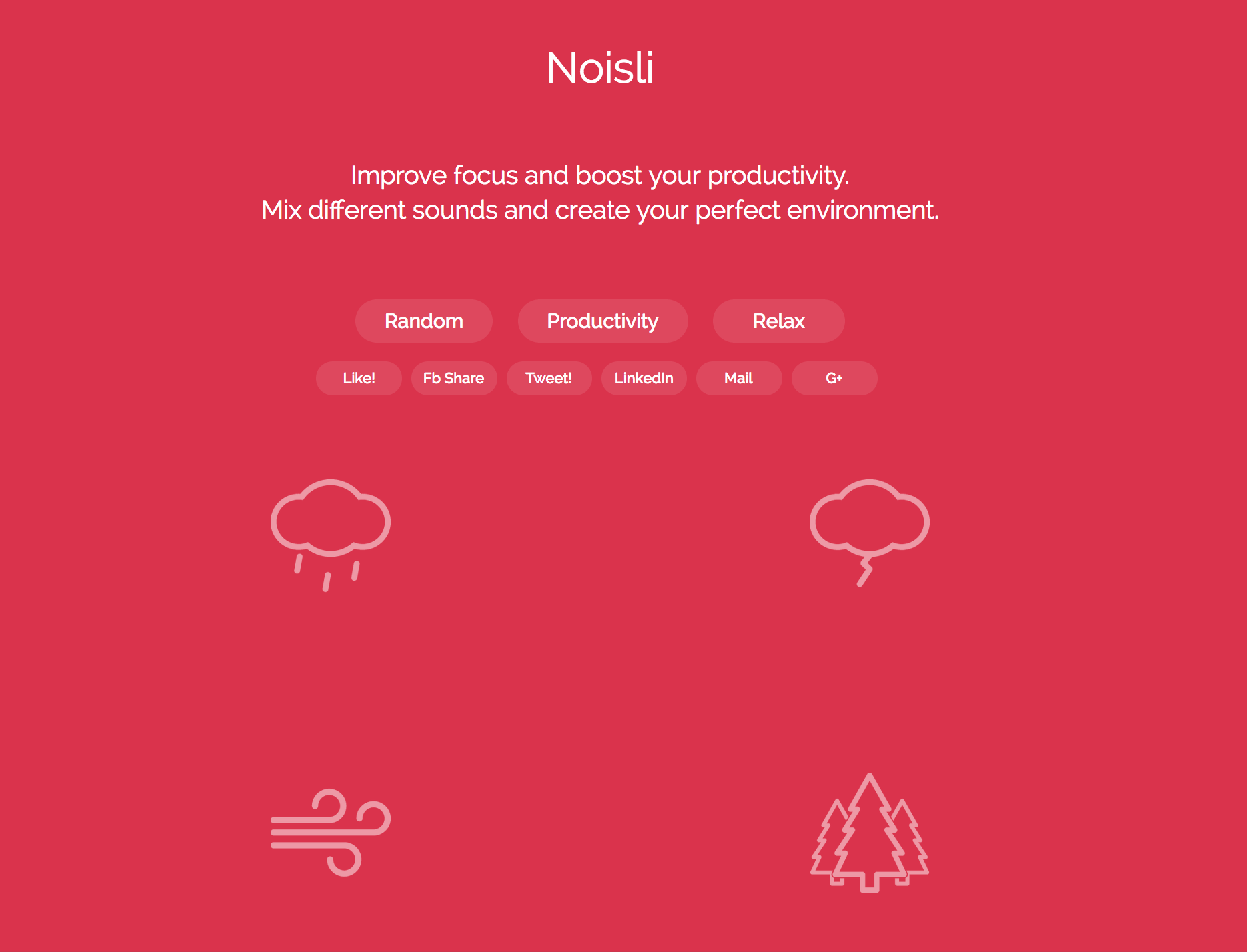 How to increase productivity with Noisli